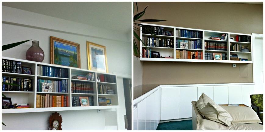 Bookcase Collage