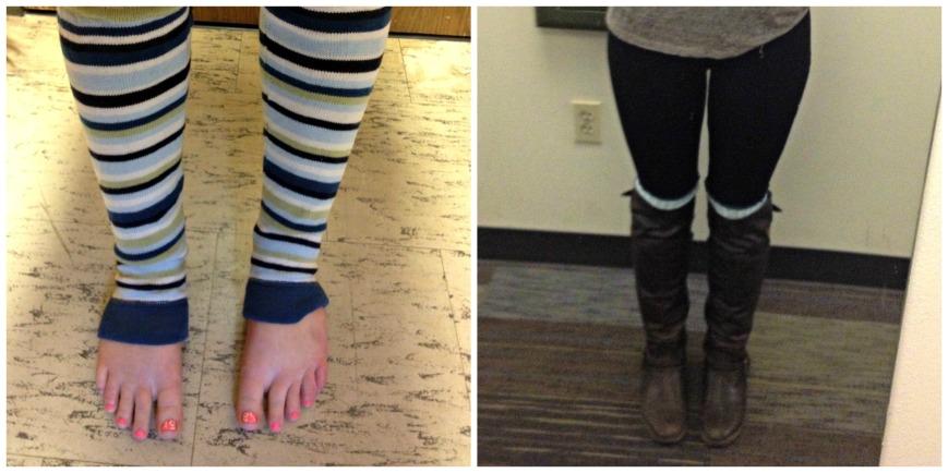 Leg Warmer Collage