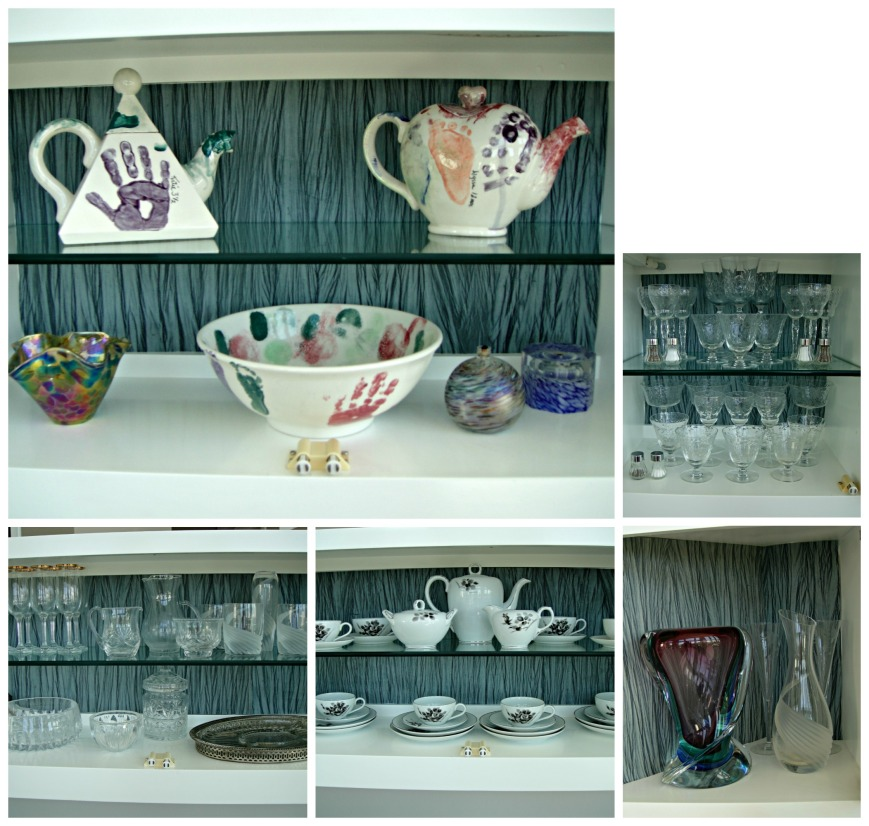 Open Shelves Collage
