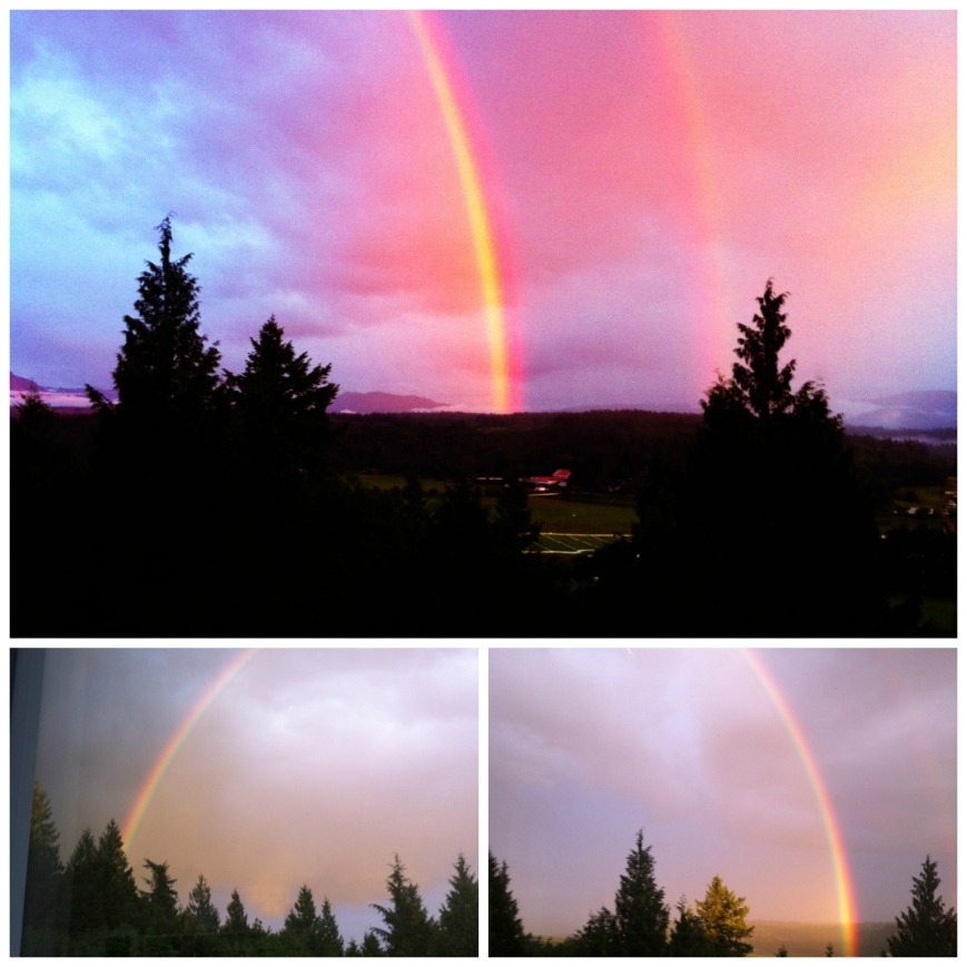 Rainbow Collage