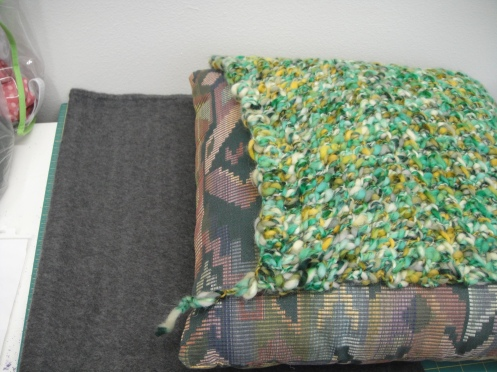 backing pillow topper