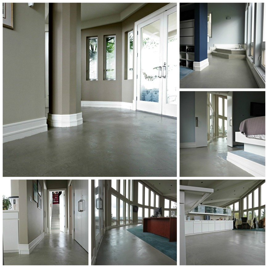 Finished Floors Collage
