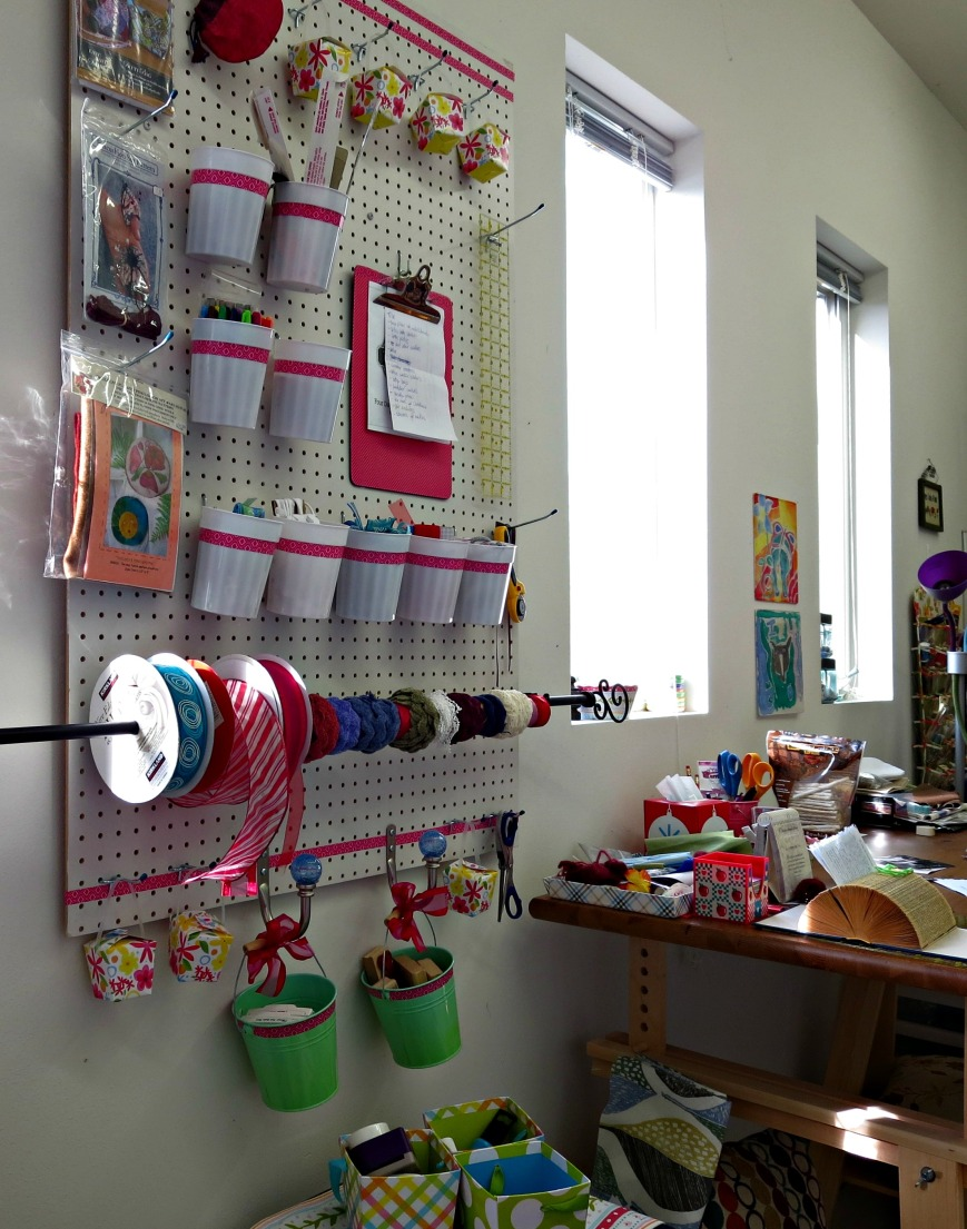 New Decorated Peg Board