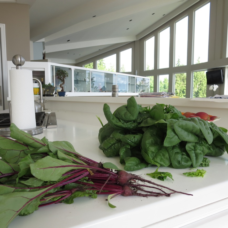 Beets & Spinach