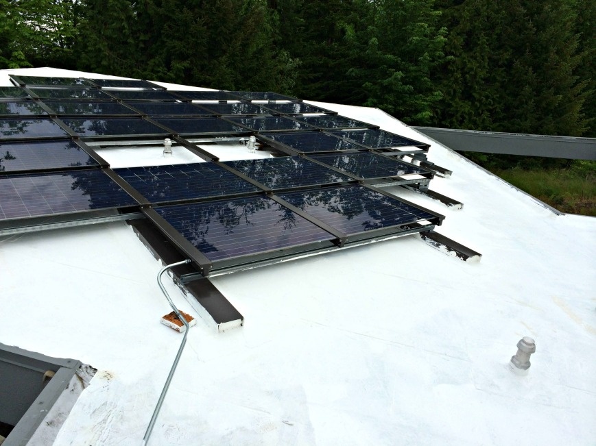 Solar Panels with Paint
