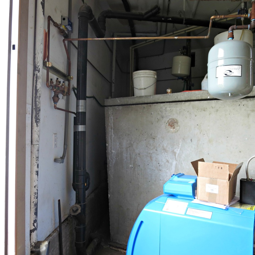 Water Softener Area