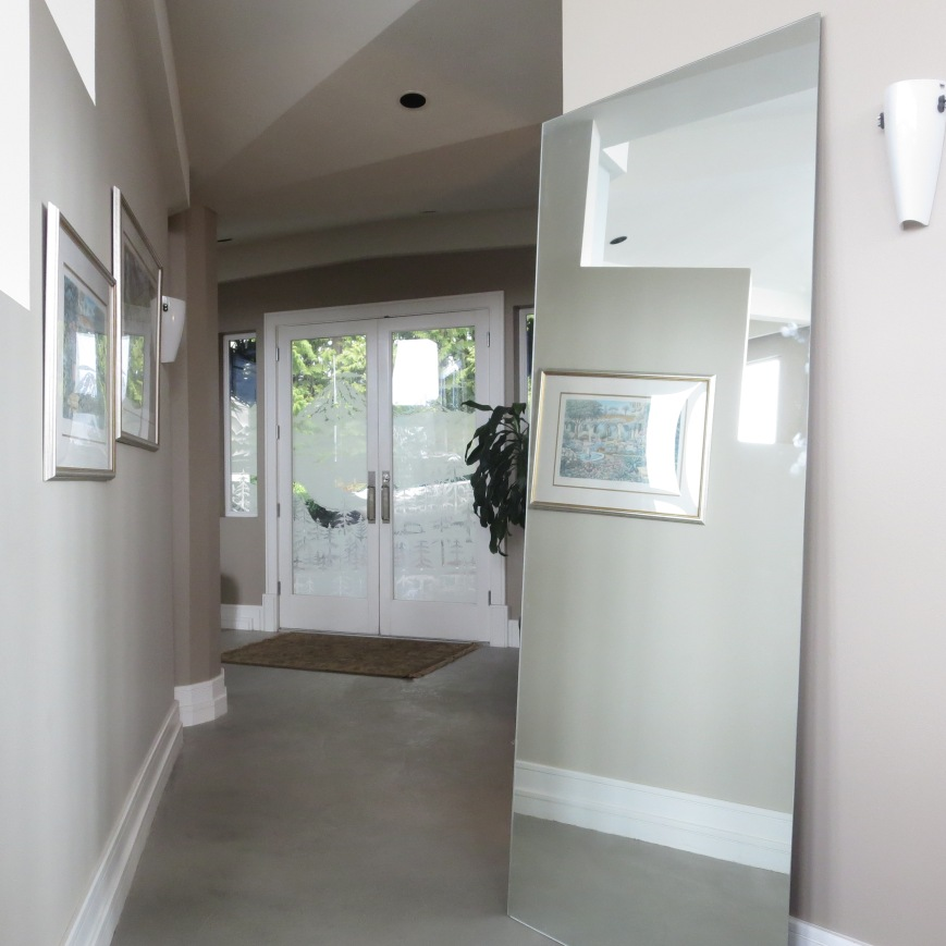 Mirror in Hall