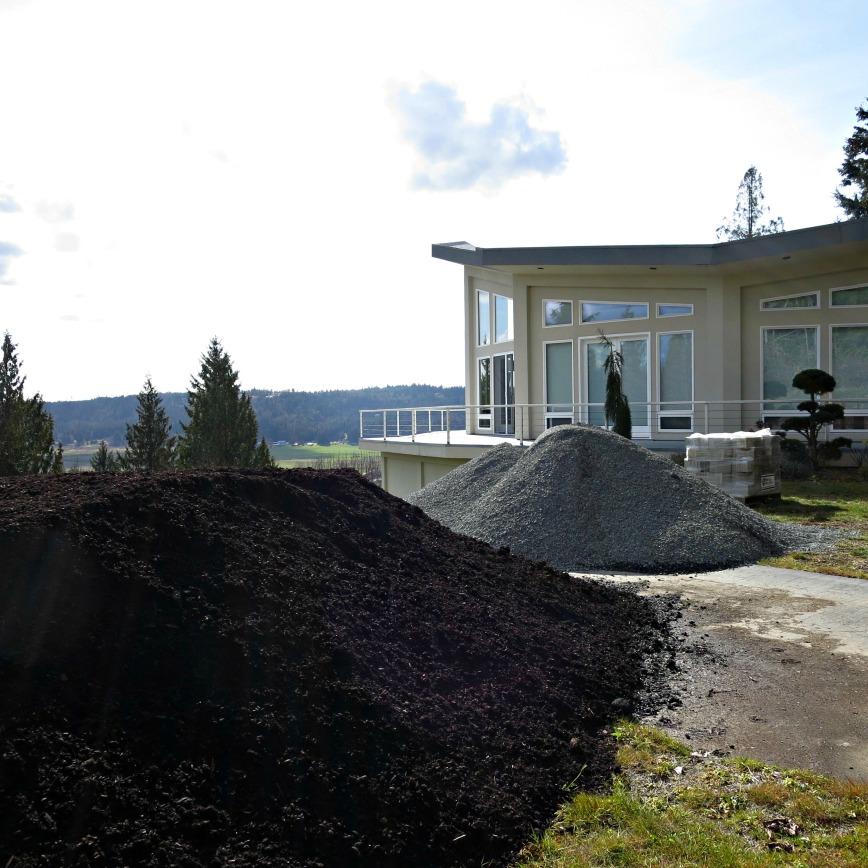 Piles & House
