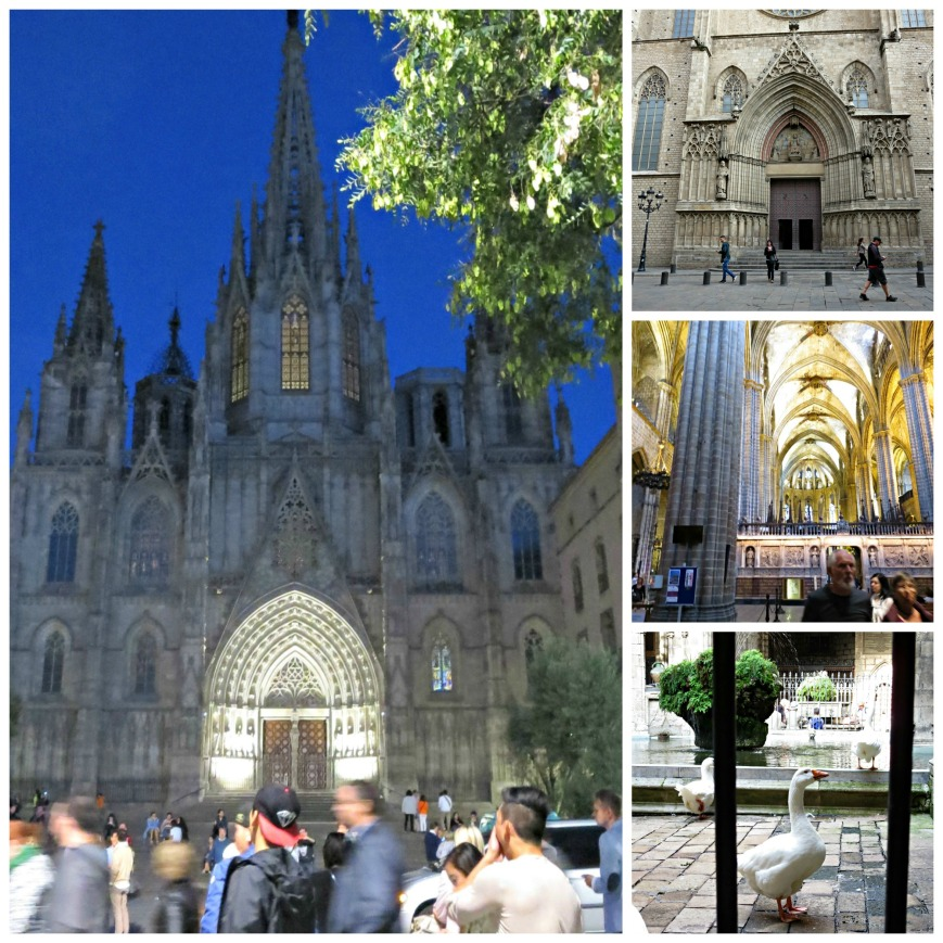 Barcelona Cathedral Collage