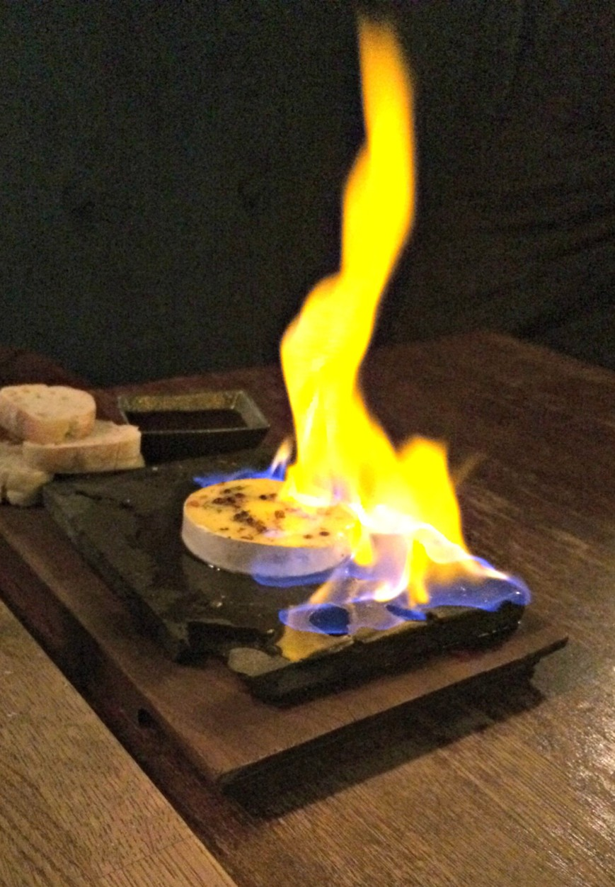 Cheese on Fire