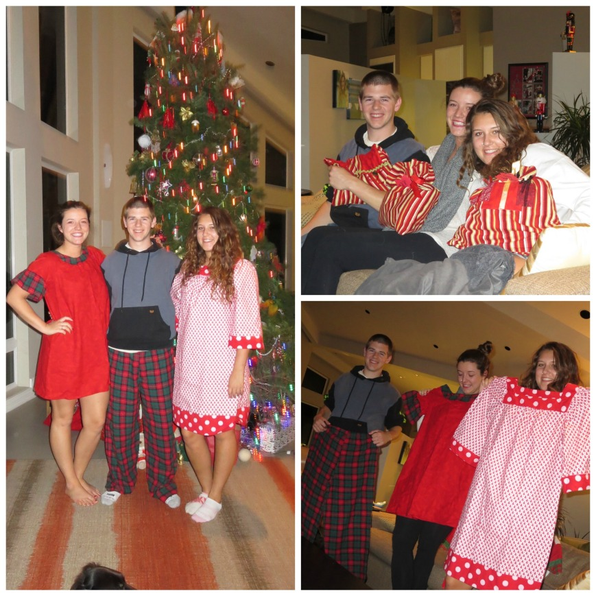 Christmas Pjs Collage