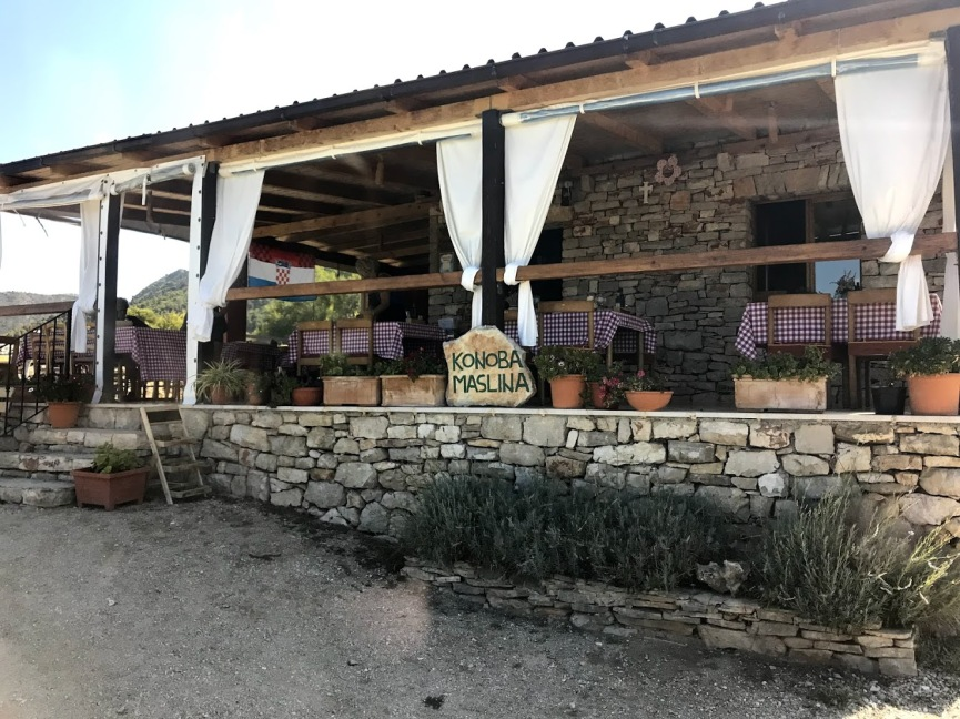 Olive grove lunch